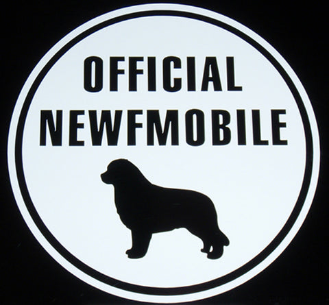 Official Newfmobile - Magnet