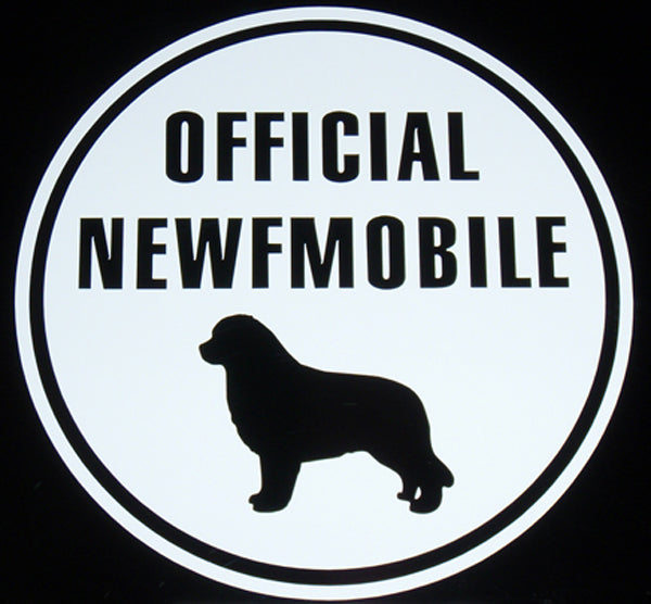 Official Newfmobile - Decal