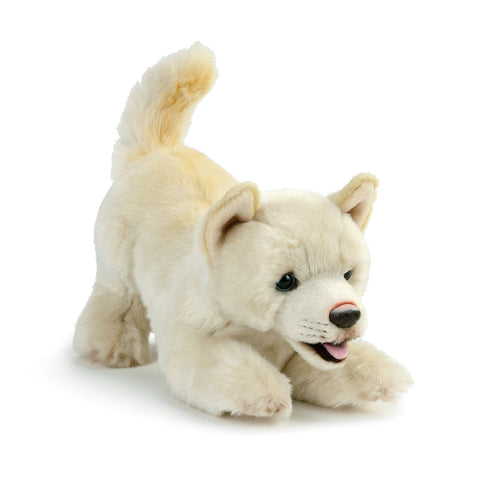 White Mix Rescue Breed Plush Toy