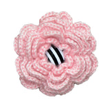 Hand-Crocheted Light Pink Bloom for Her