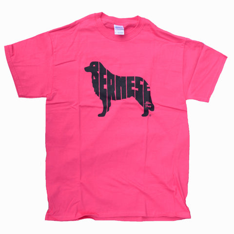"""Bernese T-Shirt - Pink"" - Limited"