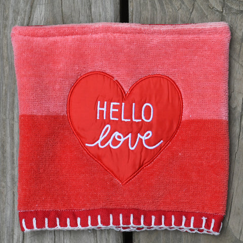 hello love Pot Holder