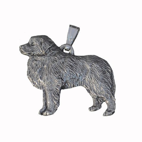 Antiqued Pewter Great Pyrenees Pendant