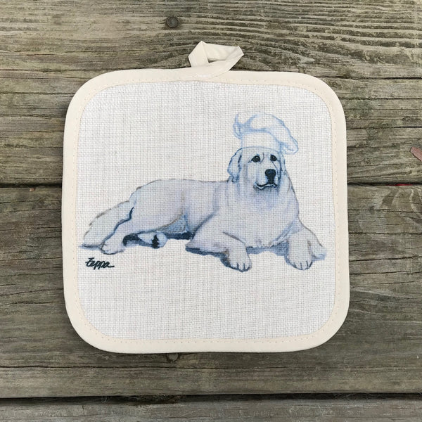 Great Pyrenees Pot Holder