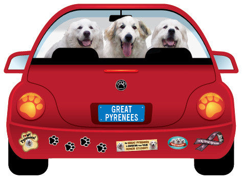 Pyr PupMobile Car Magnet