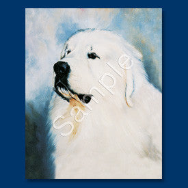 Great Pyrenees Blank Note Cards