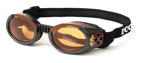 Doggles ILS - Racing Flames XL Protective Eyewear for dogs