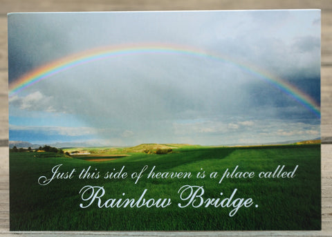 Rainbow Bridge, Sympathy Card
