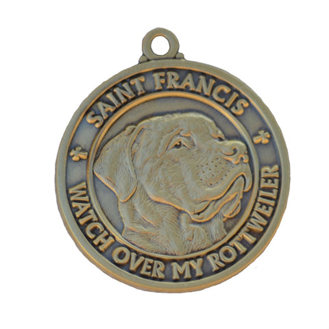 """Rottweiler"" St. Francis Tag *Discontinued Version*"