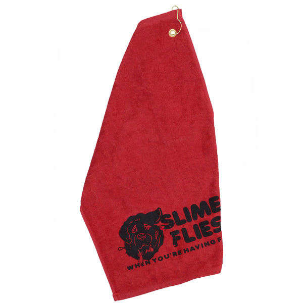 Slime Flies - Drool Towel (screen printed)