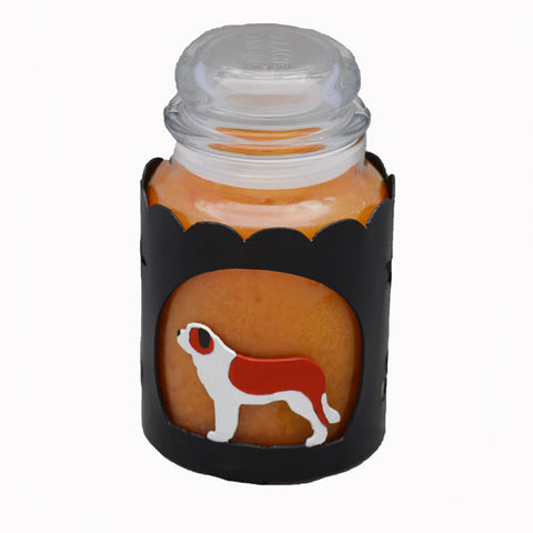 Saint Bernard Jar Candle Wrap