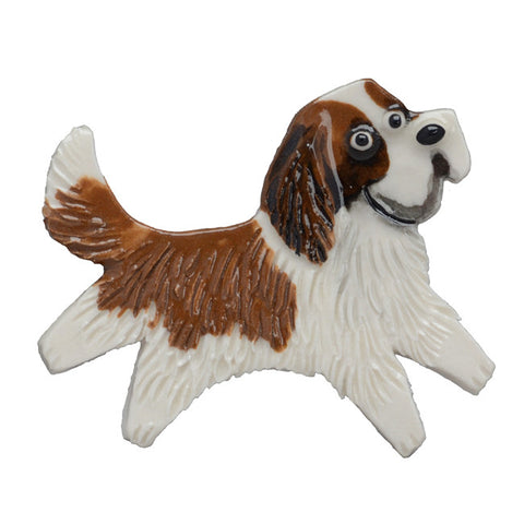 Ceramic Saint Bernard Pin