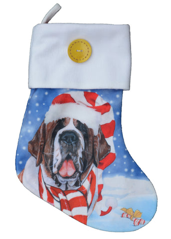 Saint Christmas Stocking