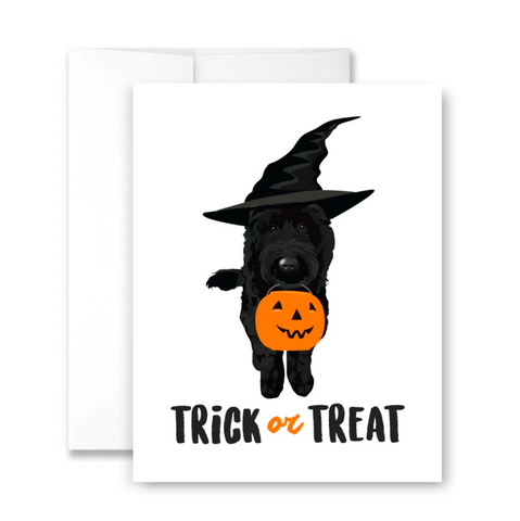 Trick or Treat - single card