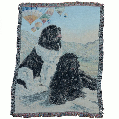 """Up, Up and Away"" - tapestry throw"