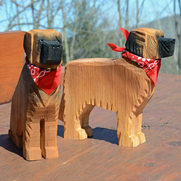 Leonberger Wood Carving*