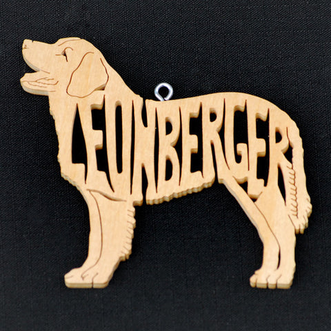 """Leonberger Wooden Puzzle Ornament"""