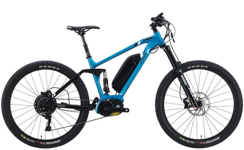 2020 KHS Six Fifty 5555+E Electric Full Suspension Mountain Bike XL Frame