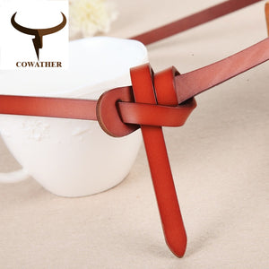 Luxury women belts genuine cow leather - Exille