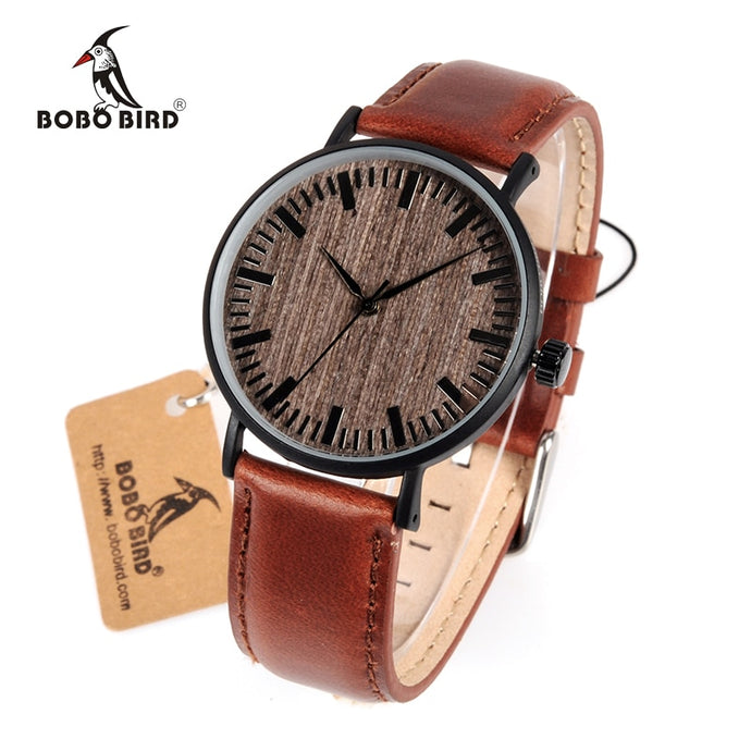 BOBO BIRD WE25 Mens Watch with Metal Case - Exille