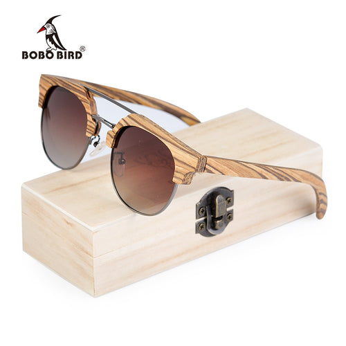 Wooden Polarized Sunglasses For Women - Exille