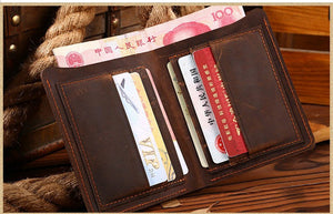 Wallet for men cowboy Style top leather - Exille