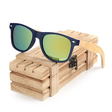 Load image into Gallery viewer, BOBO BIRD Bamboo Wooden Sunglasses For Men And Women - Exille