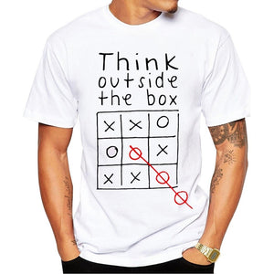 Think Out Side The Box MaleT Shirt - Exille