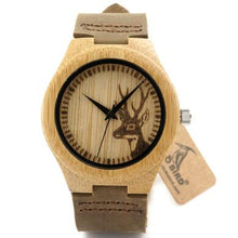 Load image into Gallery viewer, reloj hombre BOBO BIRD Bamboo Watch - Exille