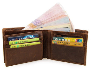 Fashionable Genuine leather wallets - Exille