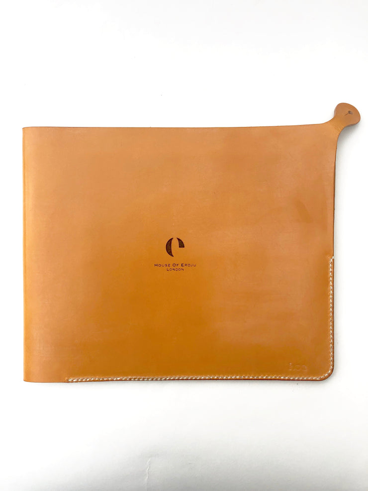 IPAD SLEEVE : LONDON TAN LEATHER