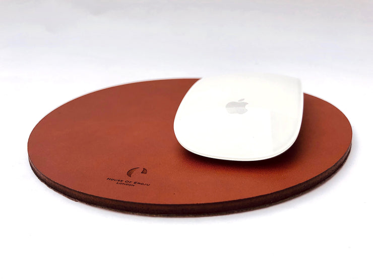 Mouse Mat in Leather