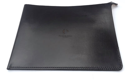 IPAD POUCH : BITTER CHOCOLATE LEATHER