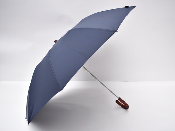 Sir Churchill Telescopic Umbrella Cognac