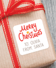"merry christmas gift labels | 2"" squares"