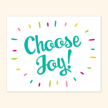 FGWP | choose joy art print