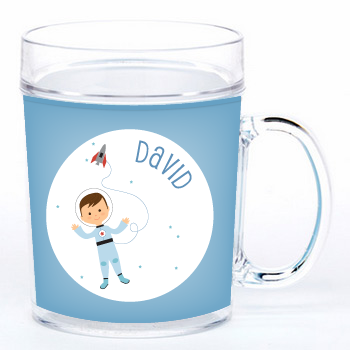 personalized cup | astronaut