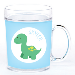 personalized cup | baby dino