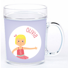 personalized cup | ballerina
