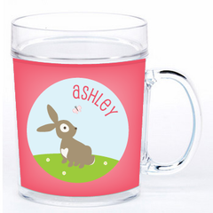 personalized cup | cheerful bunny