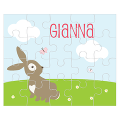 personalized puzzle | bunny