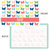 personalized mealtime set | butterflies