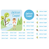 custom name labels | outdoors boy