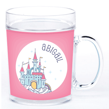 personalized cup | fairy castle