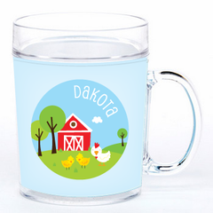 personalized cup | chickens