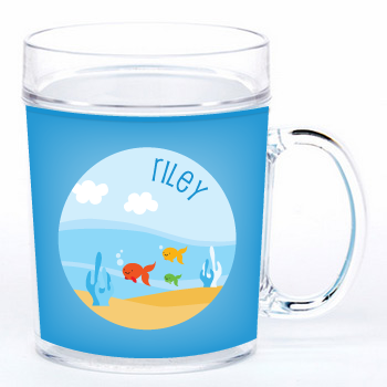 personalized cup | fish