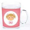 personalized cup | girl face