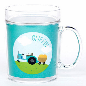 personalized cup | tractor