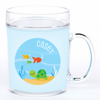 personalized cup | turtle