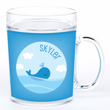 personalized cup | whale